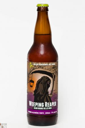 Dead Frog Brewery - Weeping Reaper Blood Orange Bock Review