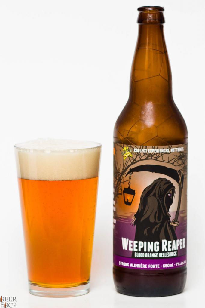 Dead Frog Brewery - Weeping Reaper Blood Orange Bock Review