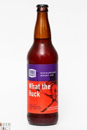 Fernie Brewing Co. - What the Huck Huckleberry Wheat Ale Review