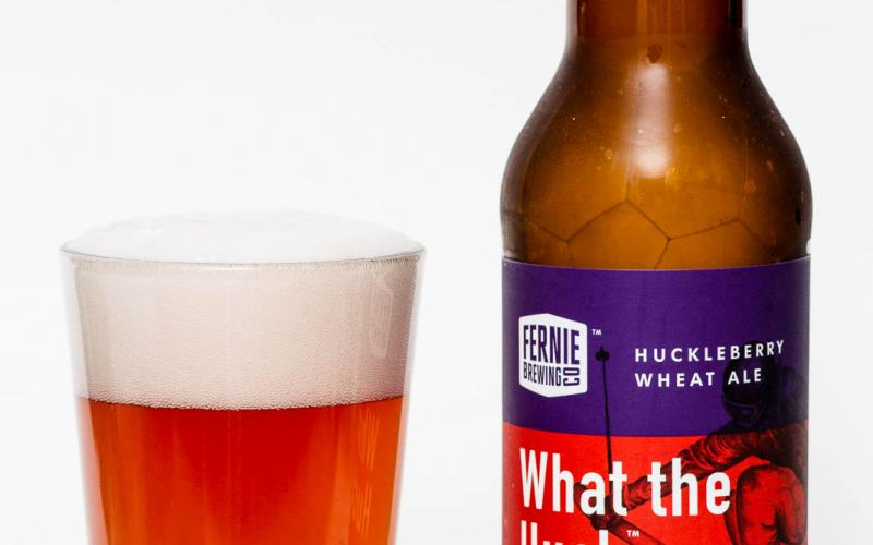 Fernie Brewing Co. – What the Huck Huckleberry Wheat Ale