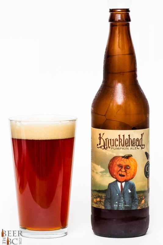 Cannery Brewing Knucklehead Pumpkin Ale Review
