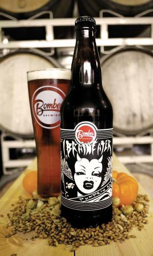 Bomber Brewing Brain Eater Pumpkin Ale Press Release