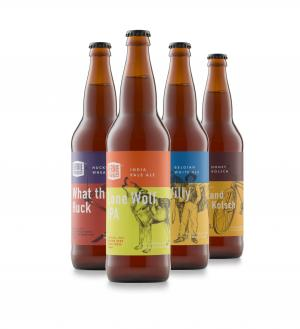 Fernie Brewing Co. - New Packaging - Bottles