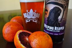 Dead Frog Releases Weeping Reaper Blood Orange Helles Bock
