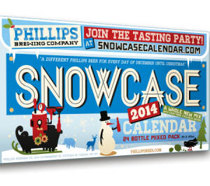 2014 Phillips Snowcase Beer Advent Calendar