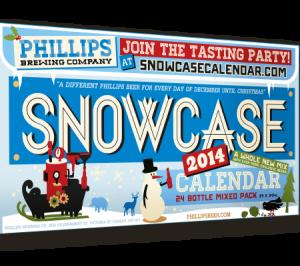 2014 Phillips Snowcase Beer Advent Calendar
