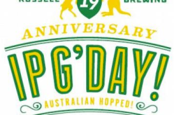 Russell Brewing Announces 19th Anniversary IPG'Day IPA