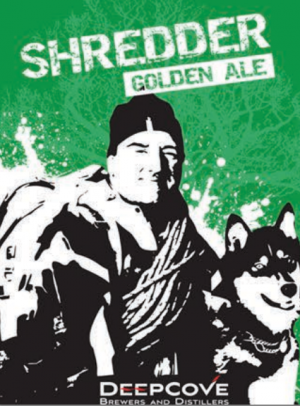Deep Cove Shredder Golden Ale