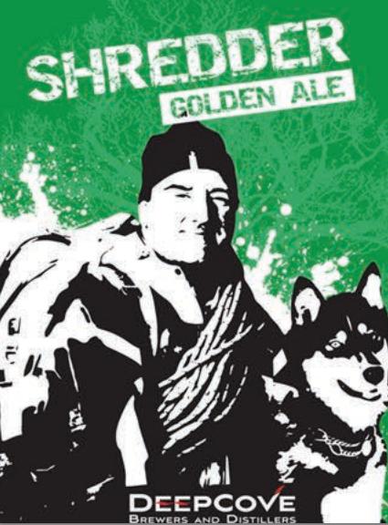Deep Cove Shredder Golden Ale