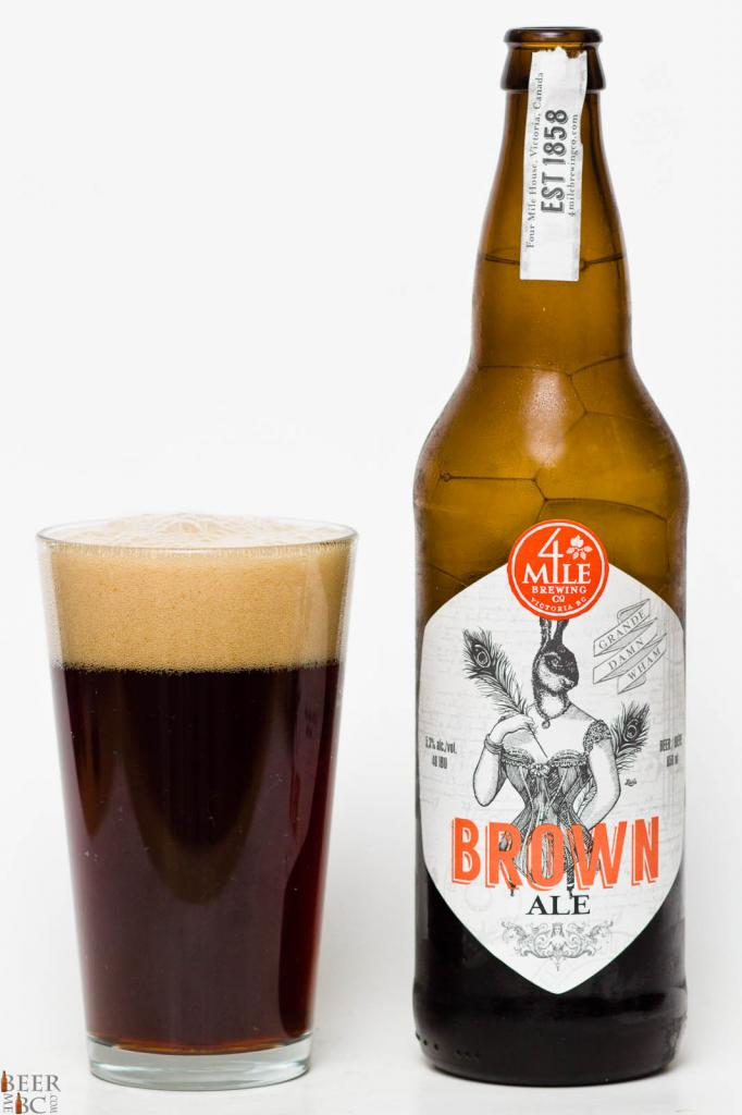 4 Mile Brewing Co. Grande Damn Wham Brown Ale Review