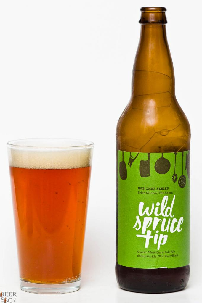 R&B Brewing Wild Spruck Tip Ale Review