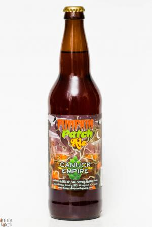 Canuck Empire Pumkin Patch Ale Review