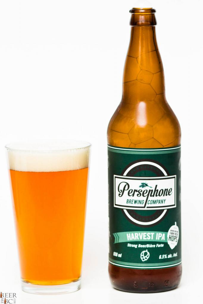 Persephone Brewing Co. - Fresh Hop Harvest IPA Review