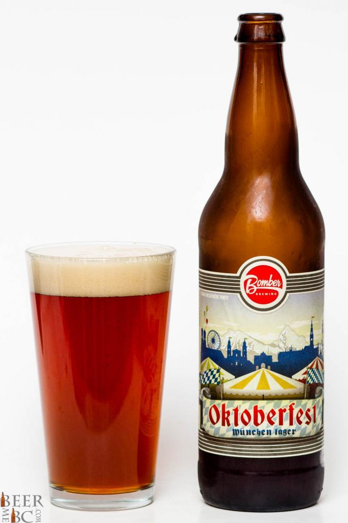 Bomber Brewing Oktoberfest Munchen Lager Review