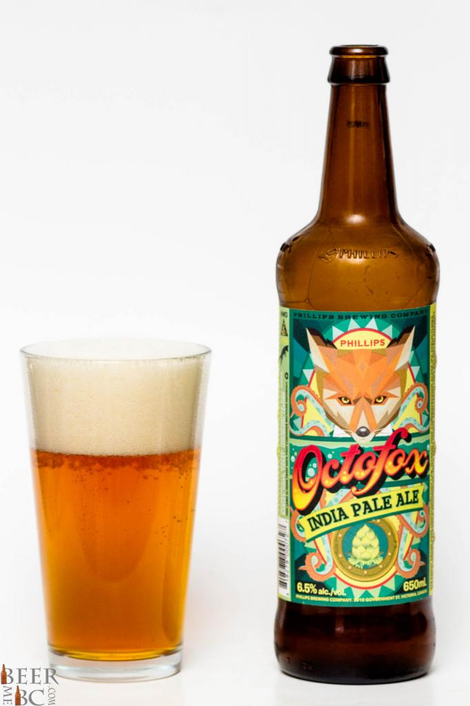 Phillips Brewing Octofox IPA Review