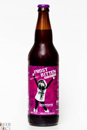 North Shore Brewery Frost Bitten Winter Tea Saison Review