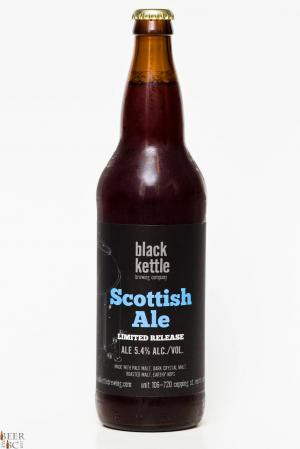 Black Kettle Brewing Co. Scottish Ale Review Bottle