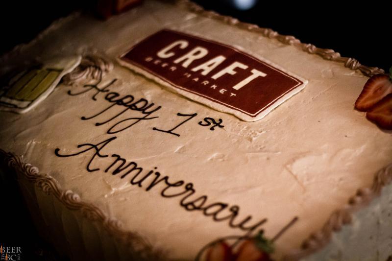 Craft Beer Market Birthday Cake