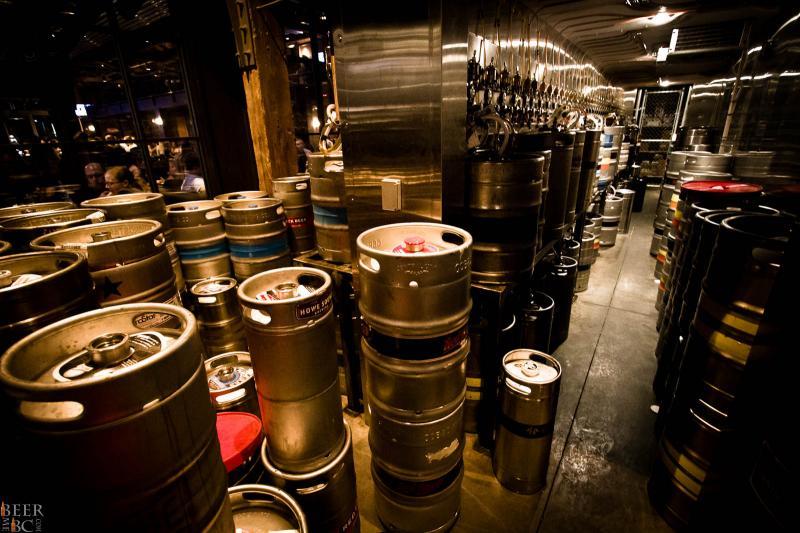 Craft Beer Market Keg Room