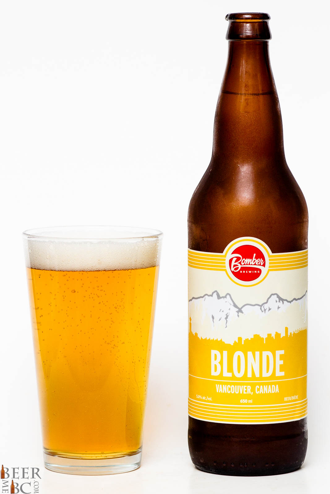 Bomber Brewing Co. – Blonde Ale   Beer Me British Columbia