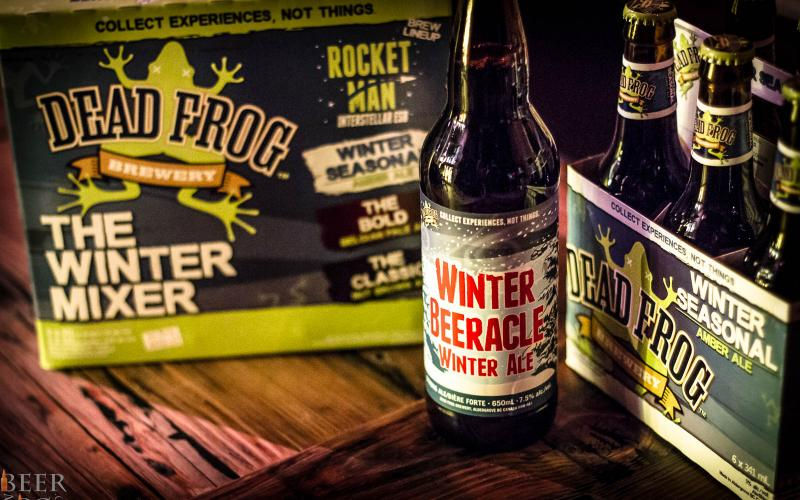 Dead Frog Launches Winter Seasonal Beers Including Peanut Butter Stout