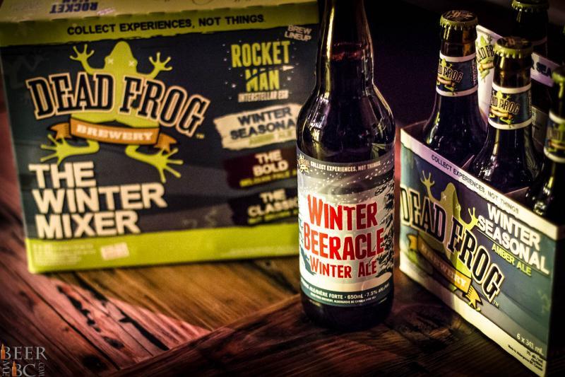 Dead Frog Winter Beer Launch