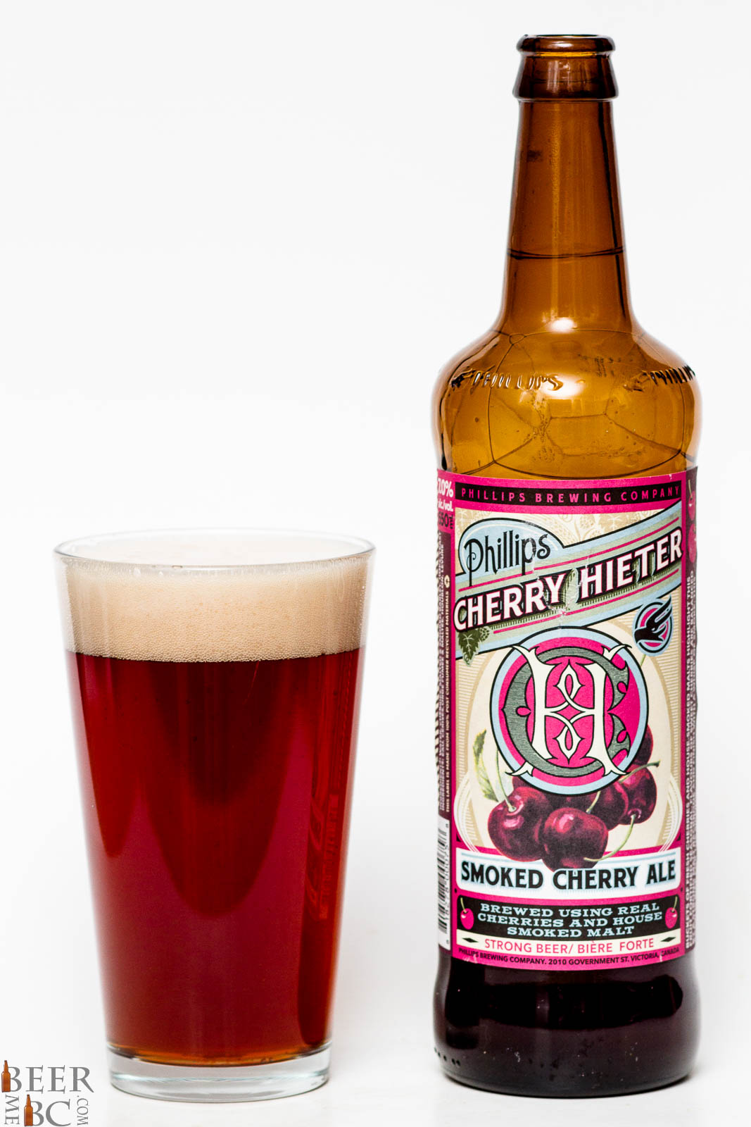 Phillips Brewing Cherry Hilter Smoked Cherry Ale Review