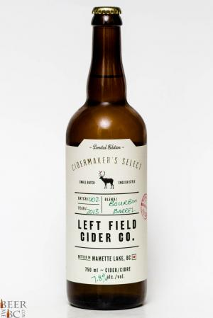 Left Field Cider Co. - Bourbon Barrel Apple Cider Review