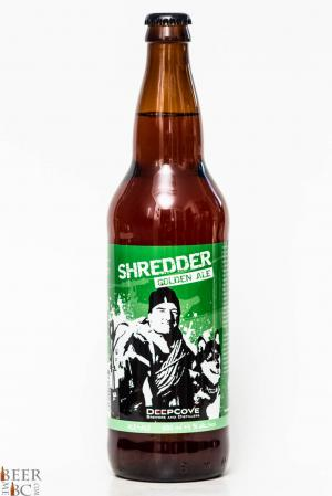 Deep Cove Shredder Golden Ale Review - North Shore Rescue Charity Beer