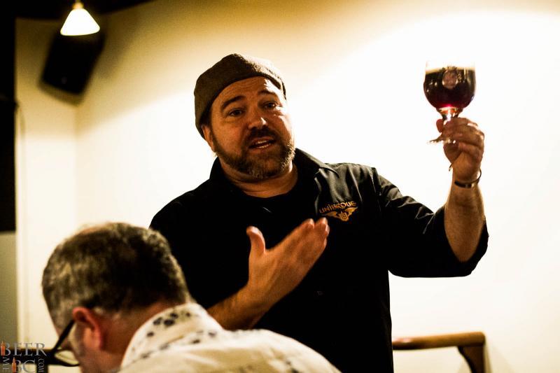Unibroue's Sylvain Bouchard - Sommelier en biere