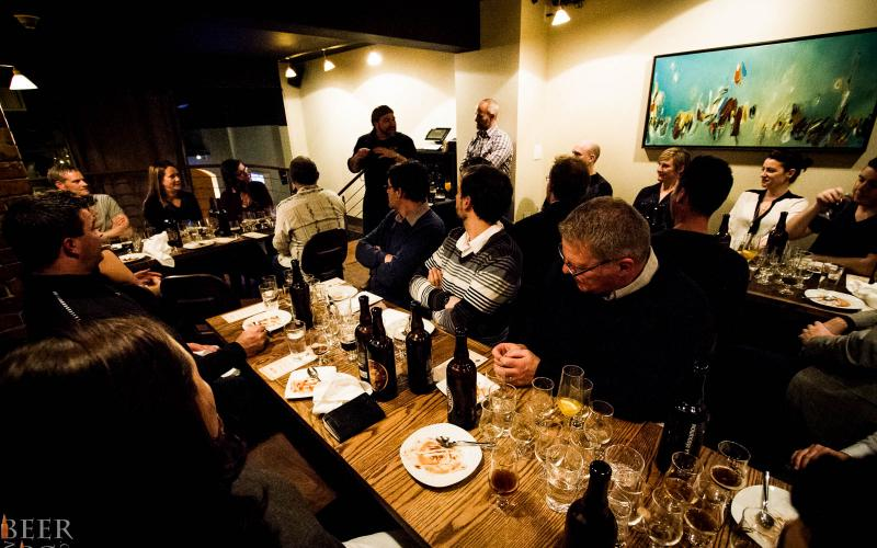The Abbey Restaurant Hosts Unibroue For A Beer Pairing Dinner
