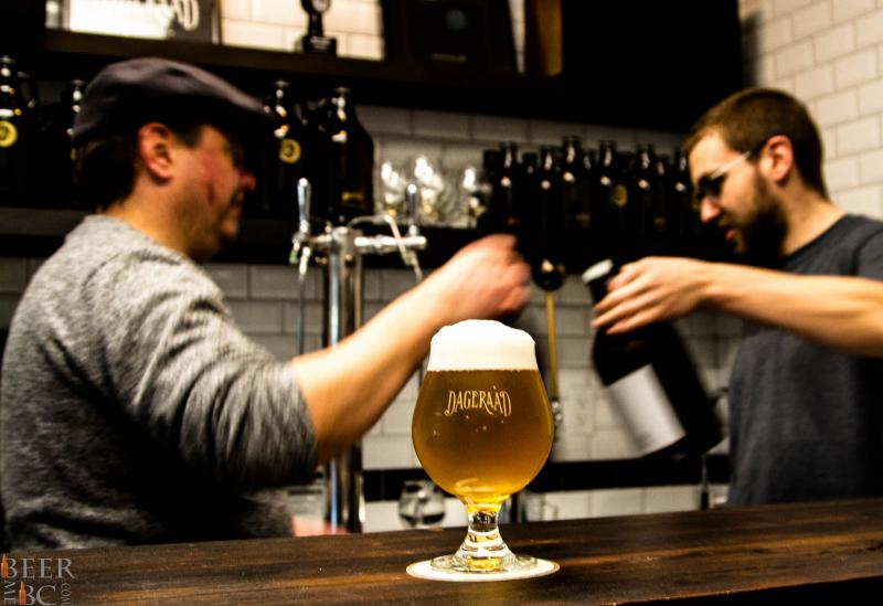 Dageraad Brewery Production Way, Burnaby Tasting Room