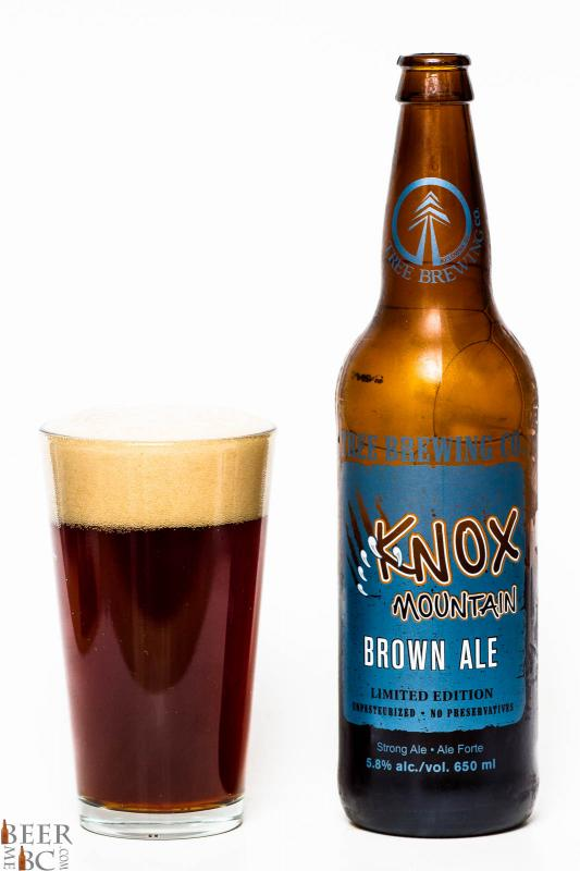 Tree Brewing Co. - Knox Mountain Brown Ale Review