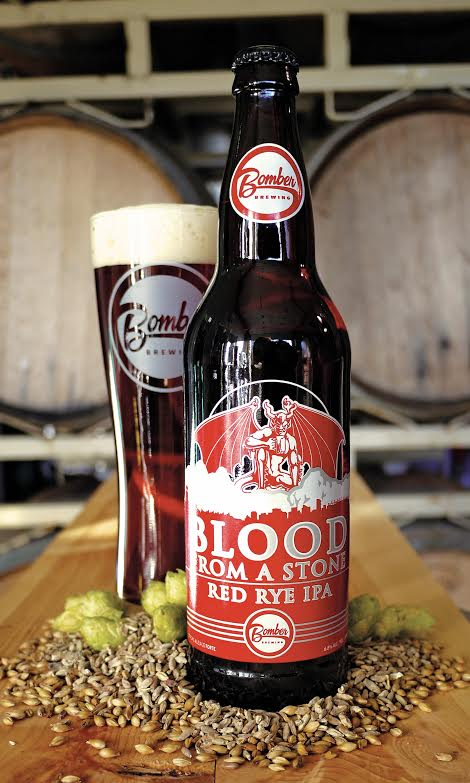 Stone and Bomber Collaboration Blood From A Stone Red Ale