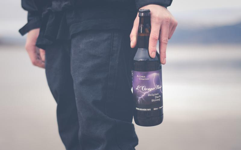 L'Orage Noir Belgian Strong Dark Ale Released from Cannery Brewing