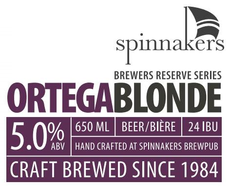 Spinnaker's Ortega Blonde Release