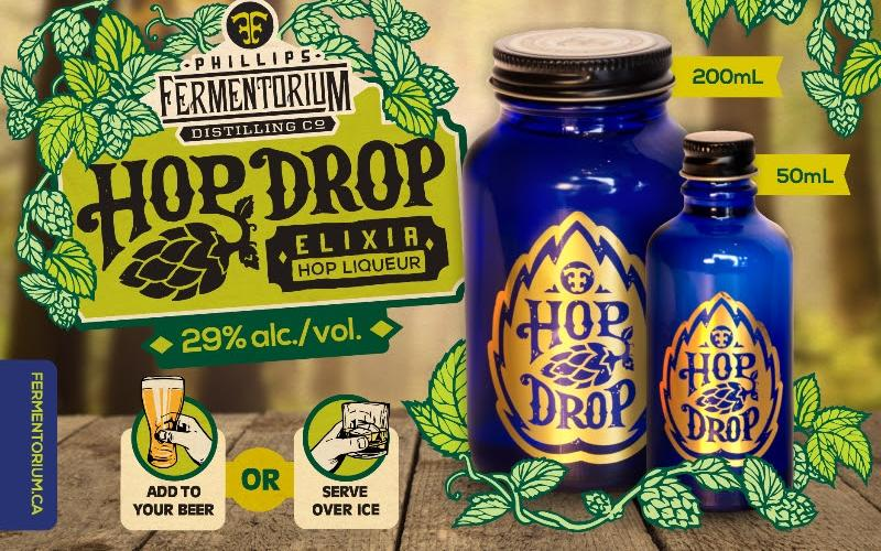 The Phillips Brewing Co. Hop Drop Liqueur Arrives in BC
