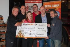Steamworks Raises $10,000 With Heroica Red Ale for Burnaby Fire Fighters