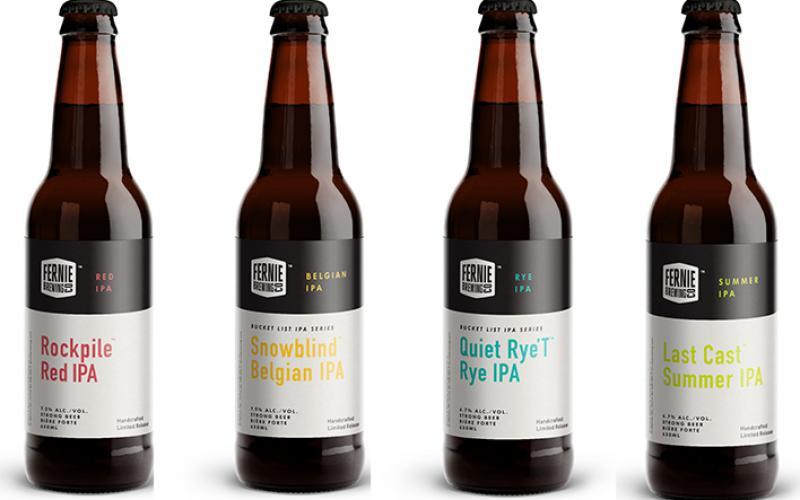 Fernie Brewing Brings Back Bucket List IPAs
