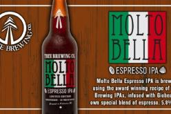 Tree Brewing Brings Back the Molto Bella Espresso IPA