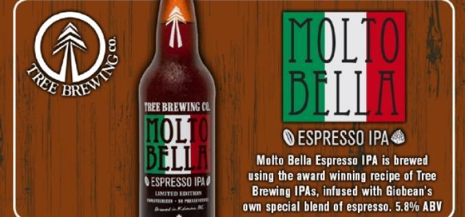 Tree Brewing Brings Back the Molto Bella Espresso IPA