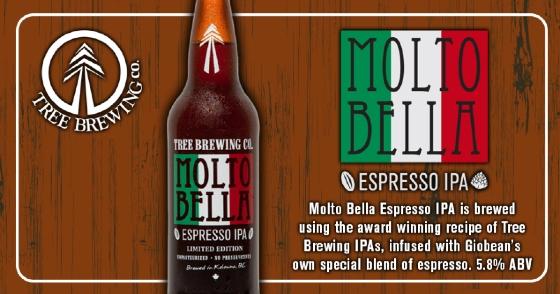 Tree Brewing Molta Bella Espresso IPA