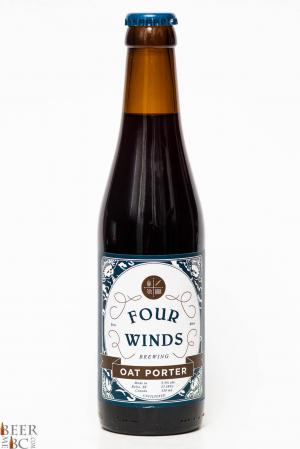 Four Winds Oat Porter Review Bottle
