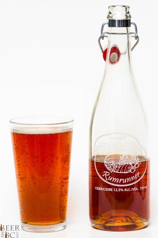 Sea Cider Rumrunner Apple Cider Review