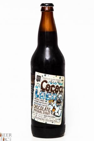 Granville Island Cocoa Loco Chocolate Imperial Stout Review