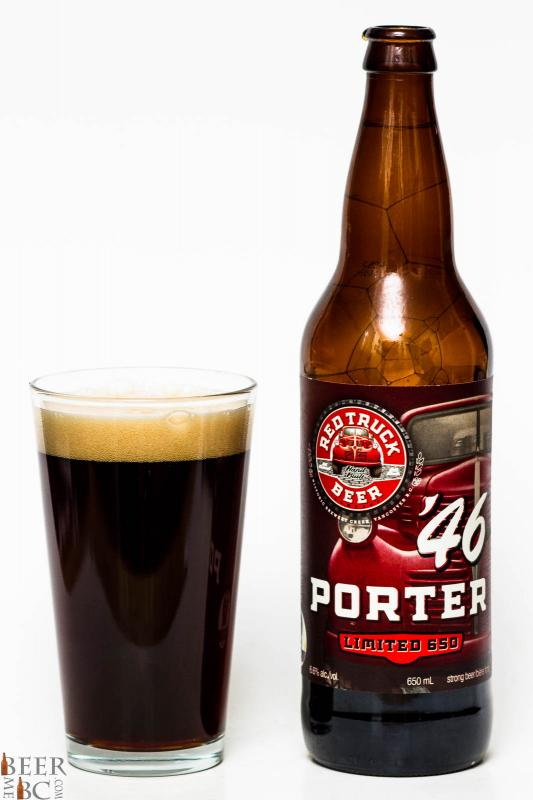 Red Truck Beer Co. - '46 Porter Review pour