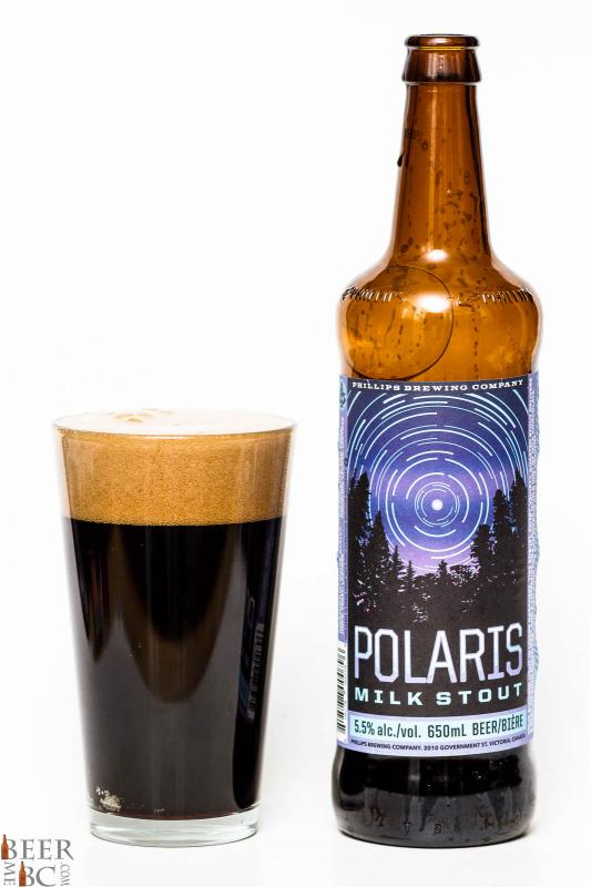 Phillips Brewing Polaris Milk Stout Review
