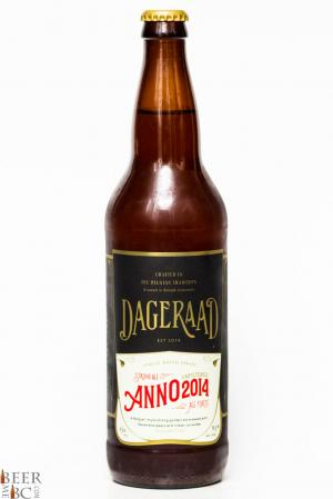 Dageraad Brewing Co. - Anno 2014 Belgian Strong Golden Ale Review