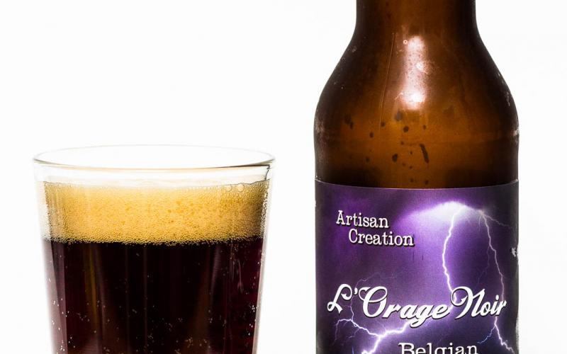 Cannery Brewing Co. – L'Orage Noir Belgian Strong Ale