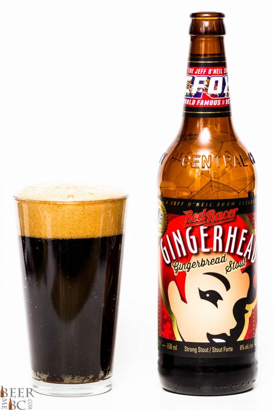 Central City & 99.3 The Fox Gingerbread Stout Review